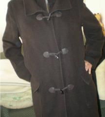 Sötétbarna egyedi szövet kabát Csere is?