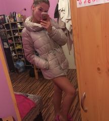 Ezüst őszi/téli kabát