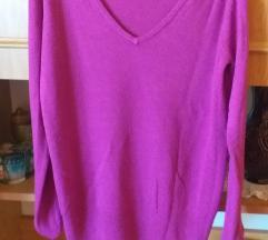 F&F vékony lila pulcsi
