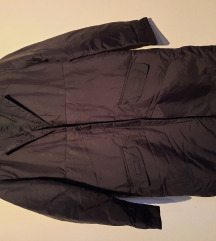 Fekete kabát M-es