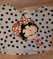 Betty Boop crop póló