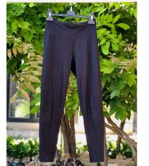 Sima fekete sztreccs leggings XS-S