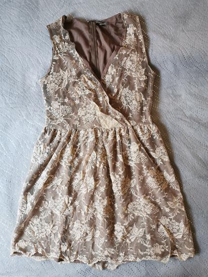 Csipkés női ruha S-M