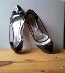 Átlátszó balerina cipő 38