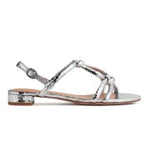 H&M ezüst szandál - ÚJ