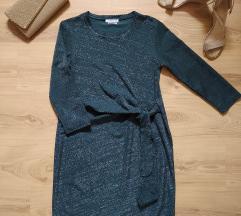 Alkalmi zöld Reserved csillogó ruha