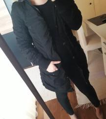 Fekete hosszú kabát