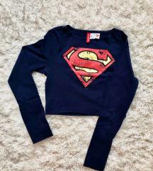 Superman S-M croptop