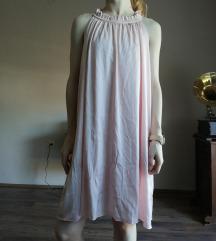 Babarózsaszín ruha Mayo Chix