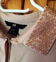 H&m púderrózsaszín ing