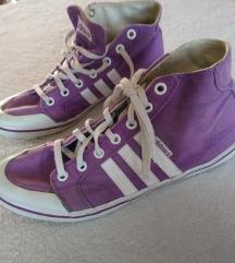 Adidas lila tornacipő