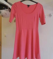 H&M Rózsaszín ruha S