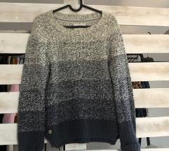 Ombre kötött pulcsi