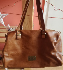 Stradivarius barna táska