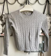 Gyerek 134 cm szürke pulcsi