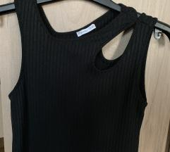 Különleges Zara fekete bodycon ruha