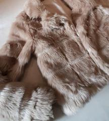 Szőrme bunda műszőrme szőrös kabát