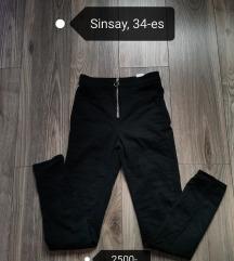 Sinsay fekete nadrág