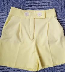 Új ZARA sárga rövidnadrág