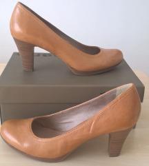 Tamaris bőr cipő, 39-es