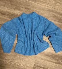 Kék oversized pulcsi