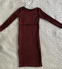 Extra szexi bordó pulcsi ruha