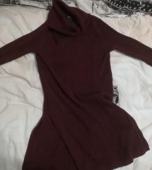 Bordó hosszított pulcsi