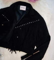 Orsay rojtos-szegecses művelúr kabát 34/XS