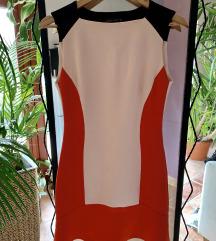 Zara hátul kivágott elegáns ruha