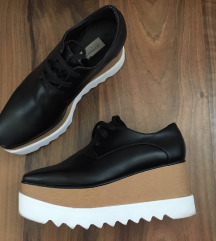 Stella McCartney platform flatform oxford cipő