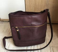 Bordó crossbody táska