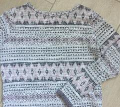 Mintás H&Mes pulóver