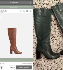 eredeti Minelli Boutique bőr csizma