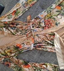 Új, Shein velvet virágos gyönyörű kimonó