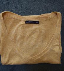 Berskha sárga V-kivágású póló