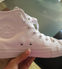 Bőr converse tornacipő