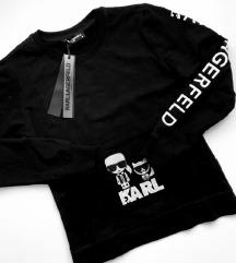 S-es fekete Karl Lagerfeld pulóver