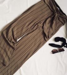 Zara kötött anyagú különleges nadrág