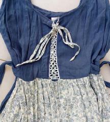 Gyönyörű vintage romantikus ruhácska M/L