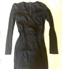 French C alkalmi fekete ruha