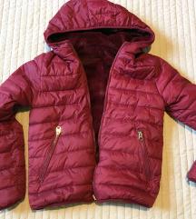 Pull&Bear kifordítható steppelt dzseki, kabát