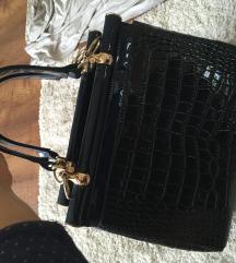 Új kék lakk táska