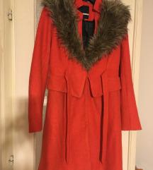 ANTROPOLOGIE gyapjú őszi kabát