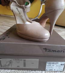 Tamaris alkalmi cipő 39-40 es