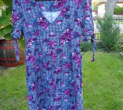 virágos-szürke ruha