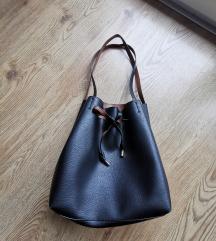 Foglalt - H&M fekete vödör táska