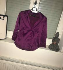 AKCIÓ || lila szatén ing