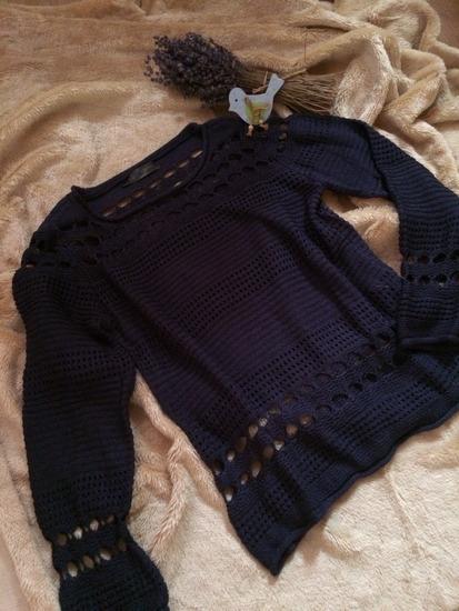 Bonprix kék pulcsi