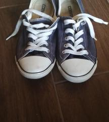 Női kék converse tornacipő