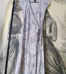 H&M átlapolós ruha 36/S